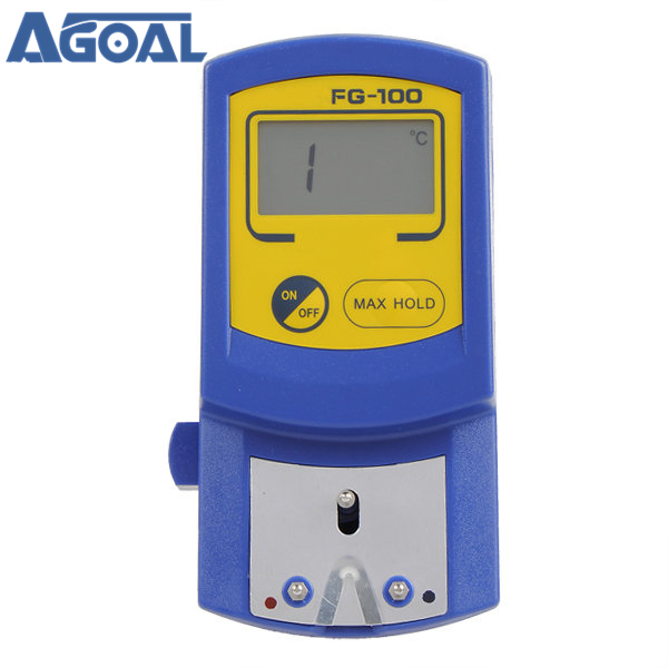 FG-100 Soldering Iron Tip Thermometer Temperature Tester 0-700 C with 5 x Lead Free Sensor Set