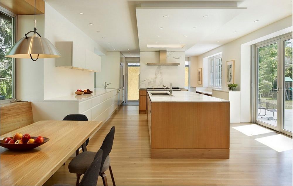 2015 Hot Sales High Gloss Handle Less Design Kitchen Cabients  Furnitures For Kitchen Modular Kitchen Unit  Manufacturers