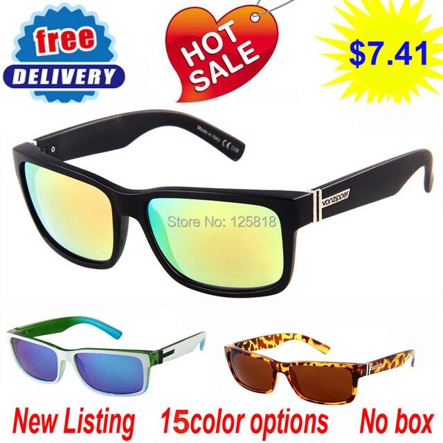 a523b00a28a No box fashion von zipper elmore glasses VZ brand designer sunglasses  Outdoor sports eyewear men   women gafas oculos de sol
