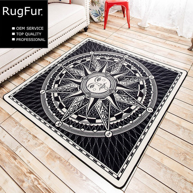 European And American Minimalist Tide Brand Carpet Soft Mats Living Room Entrance Hall Bedroom Bed Non