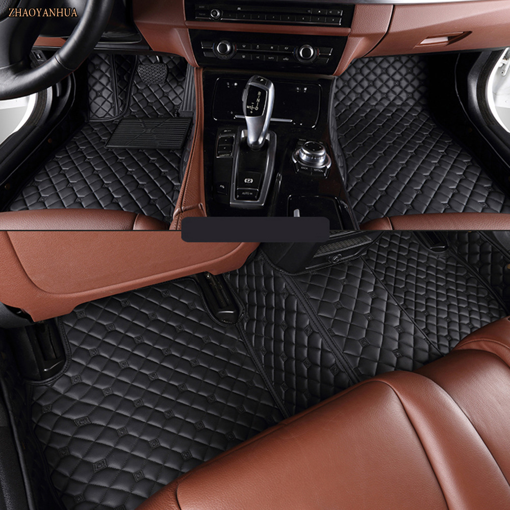 ZHAOYANHUA car floor mats made for Mazda 2 5D full cover waterproof good case car-styling carpet rugs anti skid liners (2007- 20ZHAOYANHUA car floor mats made for Mazda 2 5D full cover waterproof good case car-styling carpet rugs anti skid liners (2007- 20