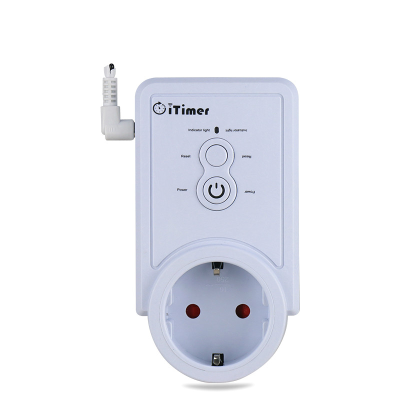 GSM Smart Home Power Outlet Plug Socket Cellphone English Russian SMS Remote Control Timing Switch Temperature Controller New gsm smart power outlet plug socket cellphone english russian sms remote control timing switch temperature controller with sensor