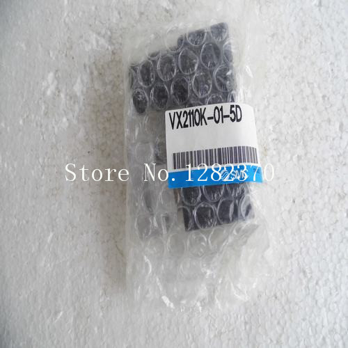 [SA] New Japan genuine original SMC solenoid valve VX2110K-01-5D spot smc solenoid valve vfs1120 5gb 01 new original genuine