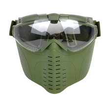 outdoor CS War game Anti-Fog Ventilated Tactical Hunting Paintball Airsoft Full Face
