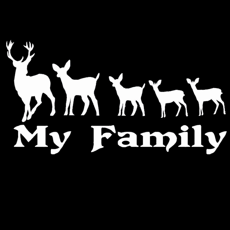 Online Get Cheap Deer Family Decals Aliexpresscom Alibaba Group - Owl family custom vinyl decals for car