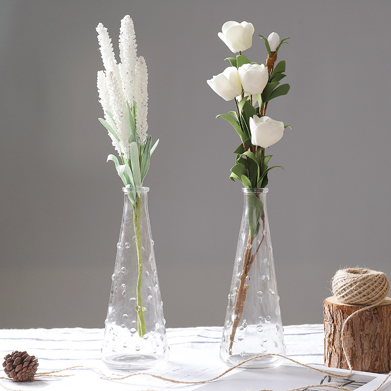 Home Decor Glass Tabletop Plant Bonsai Flower Wedding Decorative