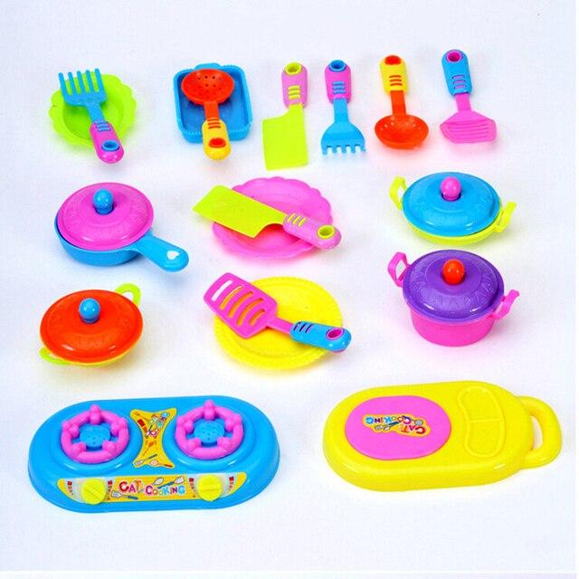 18 Jenis Simulasi Peralatan Makan Dapur Mainan Anak Anak Bermain