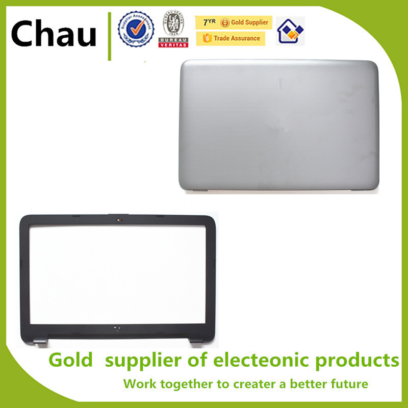 New For HP 15-BA 15-BD 15-AY 250 255 256 G5 LCD Back Cover+Lcd Front Bezel Cover 859511-001 AP102000210 AP102000430