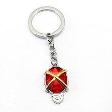 Аниме Shakugan no Shana косплей брелок красная кристальная сумка Автомобильный держатель для ключей подвеска аксессуар украшение подарок