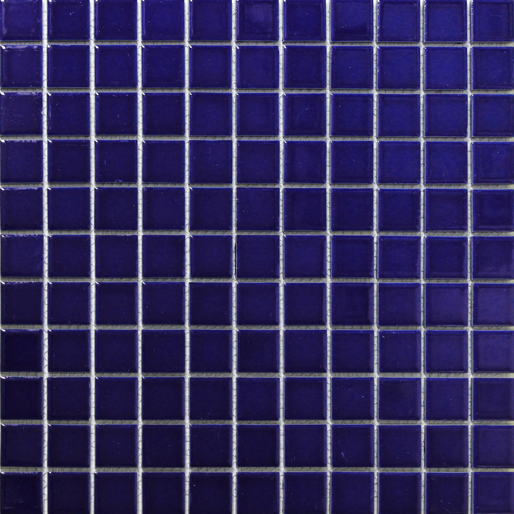 Buy fahsion blue ceramic mosaic tile for Balcony wall tiles
