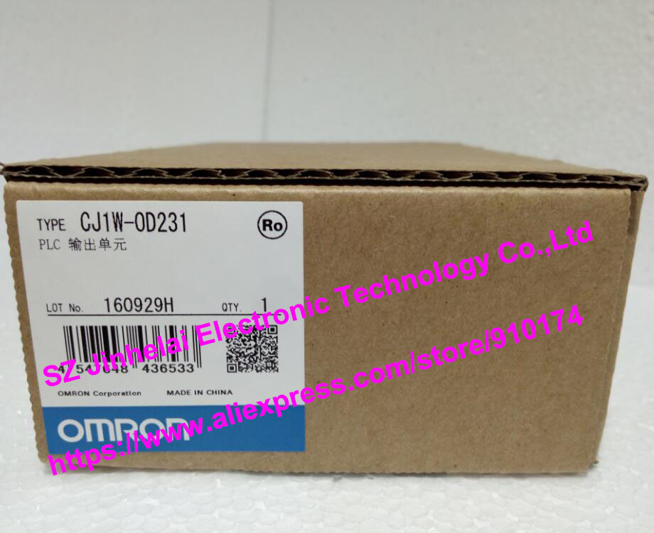 New and original CJ1W-OD231 OMRON PLC OUTPUT UNIT new and original cqm1 od212 omron plc output unit