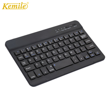 Ultra-thin Portable Mini Wireless Bluetooth Keyboard For iPad tablet La
