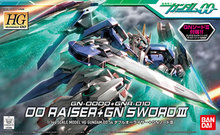 Gundam Model HG 1/144 DAUBLE O EXIA 00 RAISER + GN SWORD 3 GUNDAM READY PLEAYER ONE Bandai Robot Mobile Suit Kids Toys