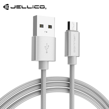 Jellico Micro USB Cable 2A Fast Charging Data Wire Cord Microusb Charger