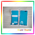 Back cover + frente quadro adesivo adesivo cola pegajosa fita à prova d' água para sony xperia z3 compact mini d5803 d5833 m55w