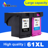 INKARENA Remanufactured Ink Cartridge Replacement for HP 61XL 61 Deskjet 1050 2050 1055 3054 3050A 3052A 2512 Printer Refill