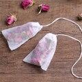 100 шт./лот чайные пакетики 9x10 см пустые ароматизированные чайные пакетики с фильтрующей бумагой для травяного чая Bolsas de te