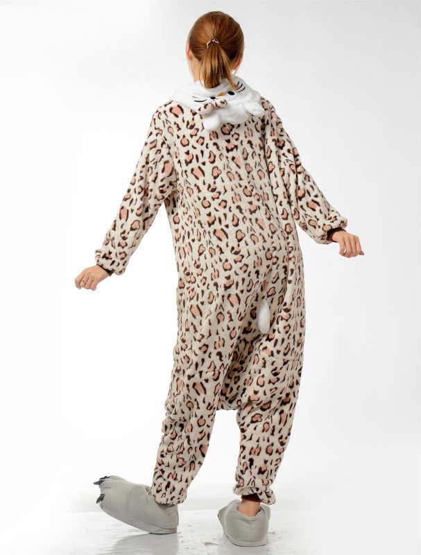 Muški dame crtani leopard Onesies za odrasle pidžame Onsie Pidžame - Ženska odjeća - Foto 6