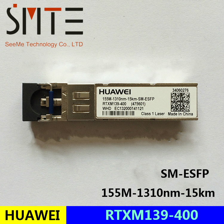 Optical module HW WTD RTXM139-400 155m-1310nm-15km-SM-ESFP for HUAWEI <font><b>MA5608T</b></font> MA5680T MA5683T image