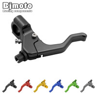 BJMOTO 2017 New Universal 7 8 22mm Motorcycle Assembly Adjustable Clutch Lever For Yamaha Honda Kawasaki
