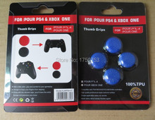 Silicone Cap PS4 TPU Thumbstick Grips For XBOX ONE Joystick Cover For PS4 Handle accessories