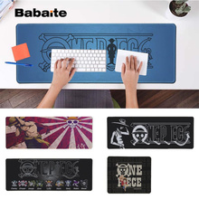Babaite My Favorite Anime One Piece logo  Locking Edge Mouse Pad Game Free Shipping Large Keyboards Mat