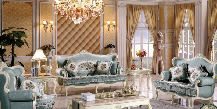 Sofa Set Living Room Furniture Luxury Furniture China