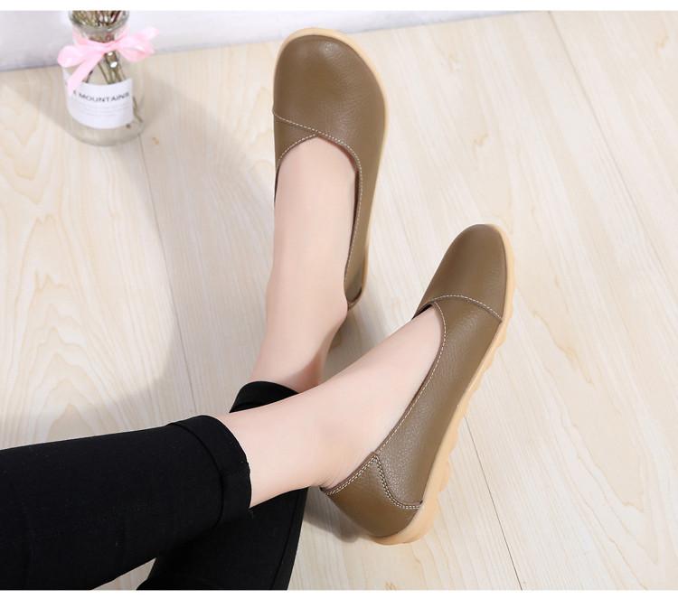 AH 5928-2019 Spring Autumn Woman Flats Casual Women Loafers-14