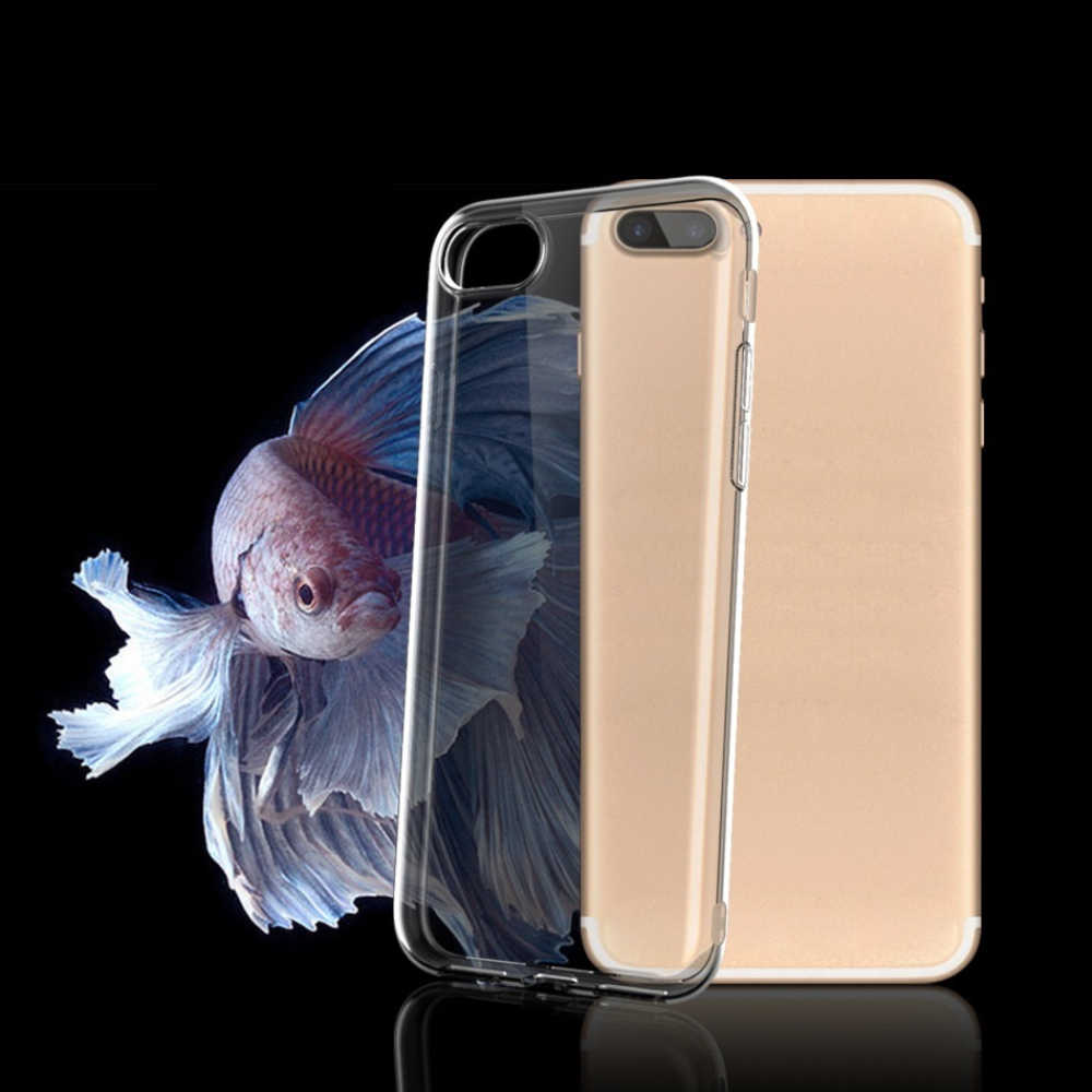 Phone Cases For iPhone 5 6 7 X XS max XR 11 pro max Case Soft Transparent Silicone Clear Back Cover For iPhone 6s 7 8 Plus Case