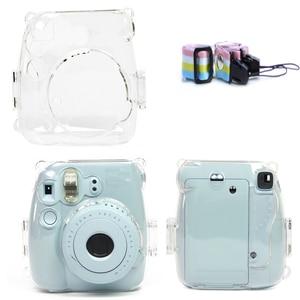 Image 1 - Przezroczysta twarda obudowa obudowa ochronna torba na aparat ochronny do aparatu fotograficznego Fujifilm Instax Mini 8/9 Mini 8/Mini8 +/9 Film natychmiastowy