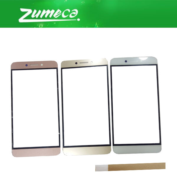6 Pinj/8 Pin High Quality For Letv <font><b>LeEco</b></font> Le <font><b>2</b></font> <font><b>Max</b></font> <font><b>X820</b></font> Front Outer Glass Panel Lens Glass Replacement Part 3 Color With Tape image