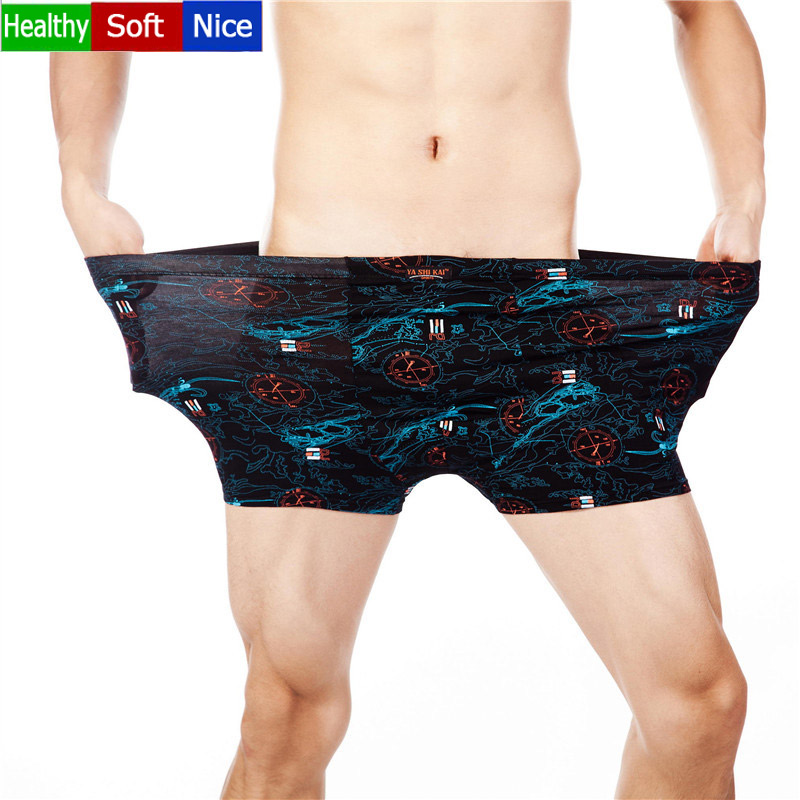 18 Color 7XL Fashion Men Underwear Boxers Quality  Men Underwear Famous Brand Cotton Boxers Male Panties Shorts Hot Sale