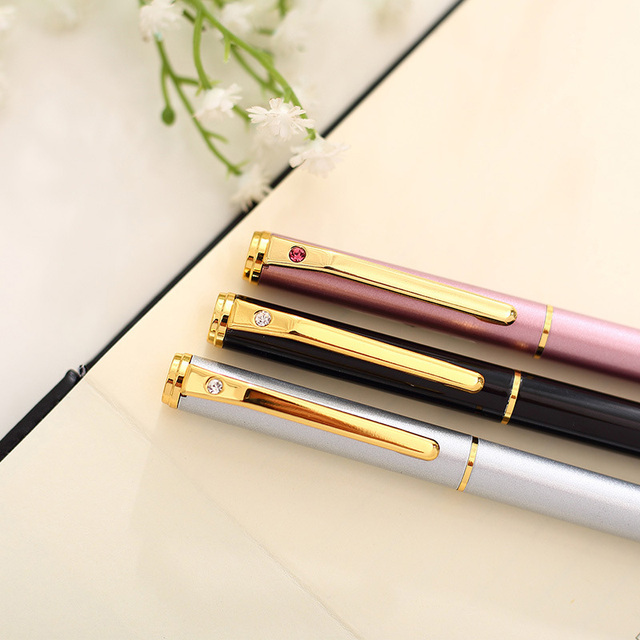 0.38mm High Quality All-Metal Lraurita Fountain Pen Kawaii Stationery Ink Pens Office School Supplies For Gift 3