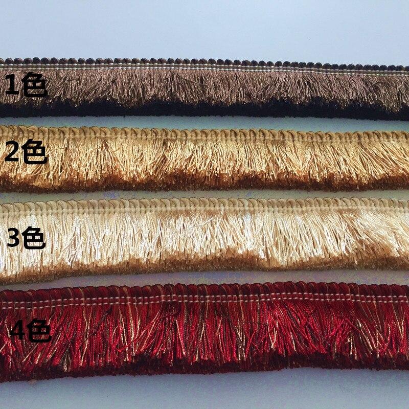 10 Mt/los 4,5 CM breite Verdicken trimmen fransen, trim, 4 farben, für diy sofa, kissen, vorhang, zubehör kostenloser versand-in Trimmen aus Heim und Garten bei  Gruppe 1