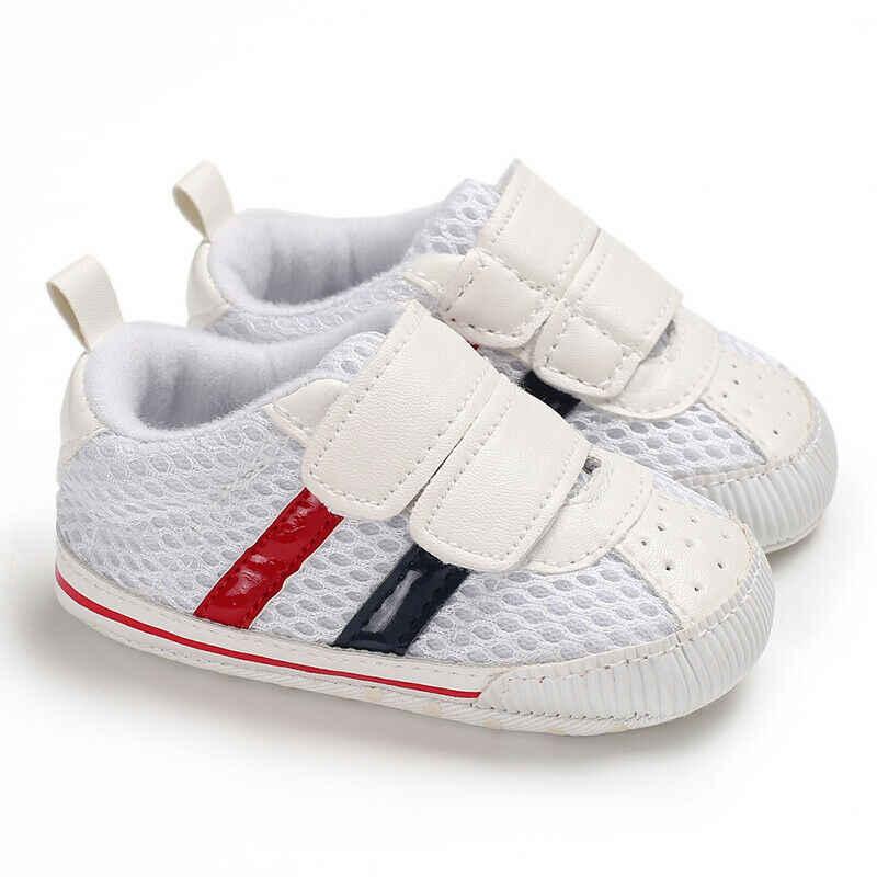 6 colores de Niño Zapatos casuales suela de 0-18 meses, zapatos de chica de bebé recién nacido bebé
