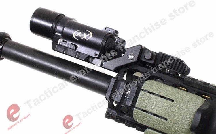 Elemento airsoft surefir x300 ultra arma lanterna