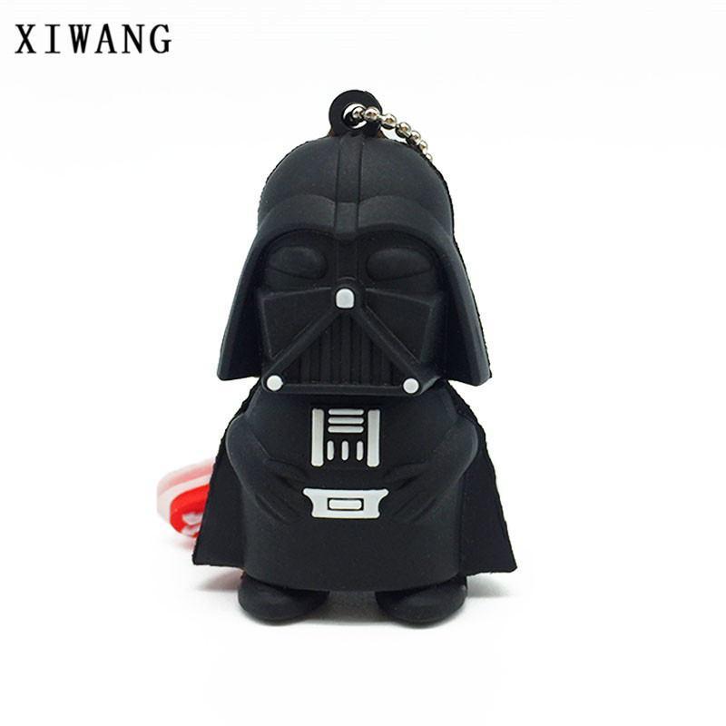 XIWANG Cartoon Full Range Star Wars Pen Drive USB Flash Drive 2.0 4GB 8GB 16GB 32GB 64GB Robot Memory Stick Drive pendrive Disk