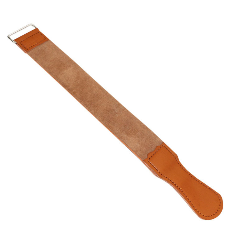 Razor Special-purpose Abrasive Cloth Swinging Knife Double-deck Really Cowhide Scraper Cloth Genuine Leather Cut Cloth Ferrule