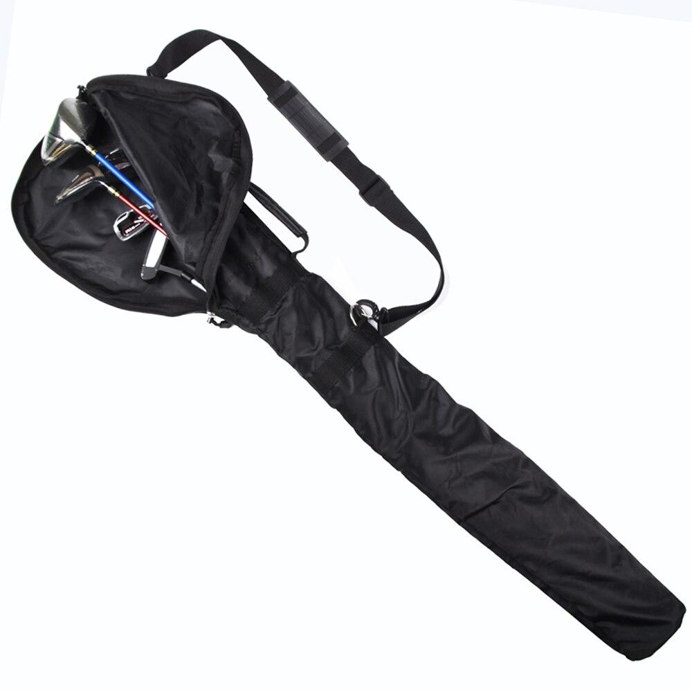 גולף אקדח תיק חבילה קיבולת ארוז 5 מועדונים מתקפל מיני רך מועדון תיק חבילת כתף מועדון שקיות לגבר ו אישה