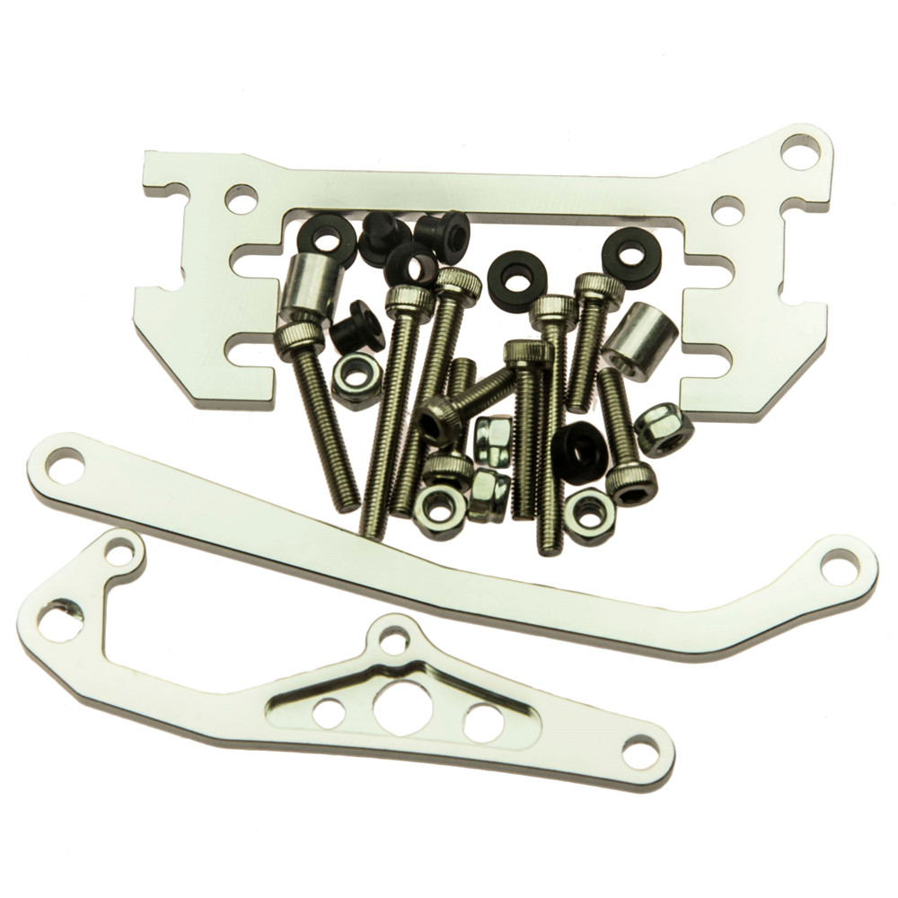 High Quality Alloy Chassis Mounted Servo Kit With Panhard Link Bar For AXIAL SCX10 HONCHO & DINGO RC Crawler Car Accessory