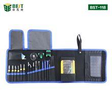 BST-118 Набор прецизионных отверток 67 в 1 Магнитный драйвер комплект с портативной сумкой для iphone 8, 8 Plus игровой консоли мобильного телефона
