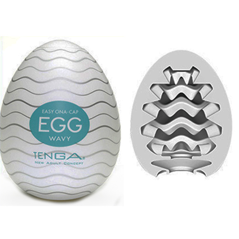Tenga Masturbator Egg Realistic Vagina Male Masturbator for Man  Sex Toys Adult Products