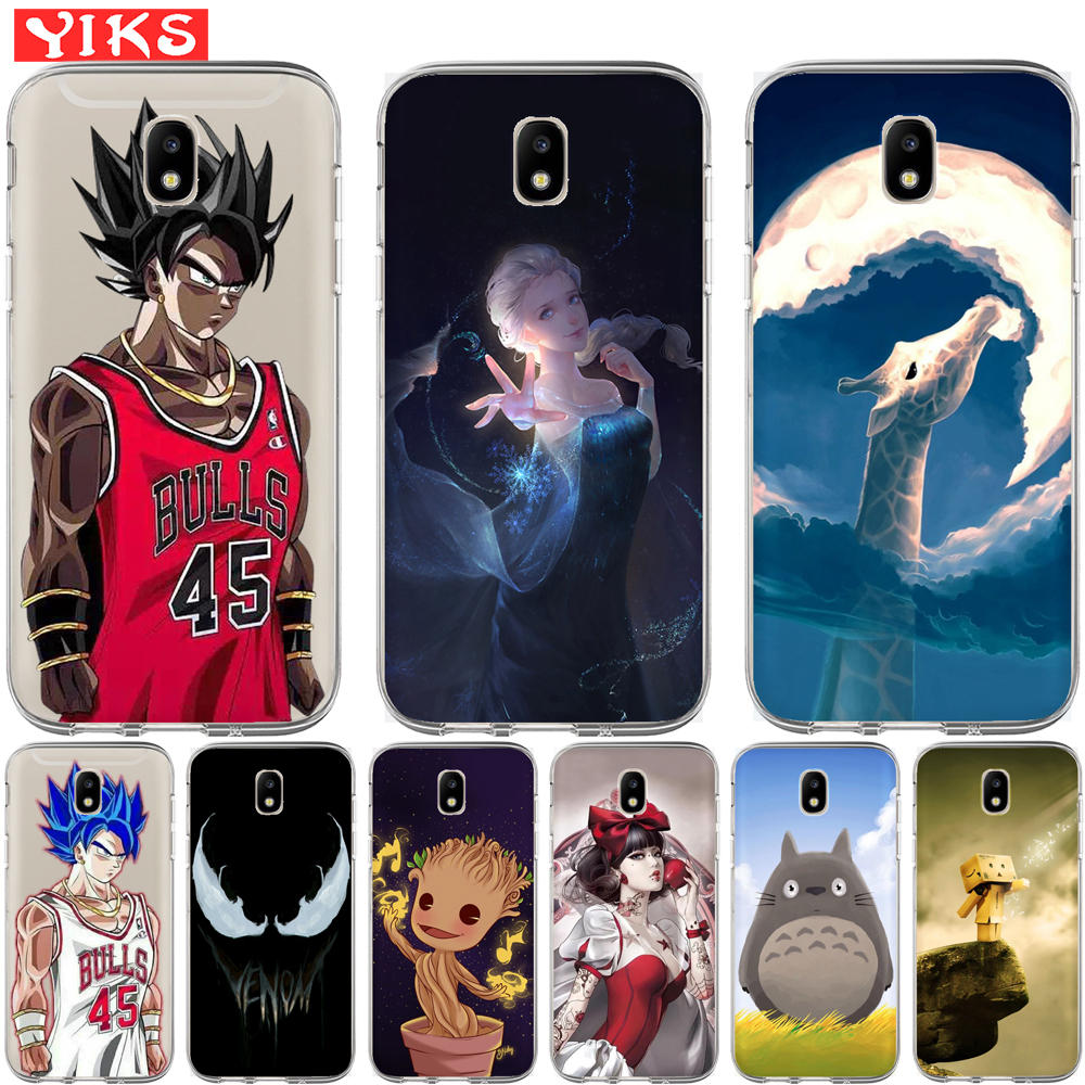 Dragon Ball Goku Cartoon Case Cover For Samsung Galaxy J2 J3 J5 J7 J6 J8 Grand Prime G530 Eu Pro Note 8 9 2016 2017 2018 Cool Fitted Cases Cellphones & Telecommunications