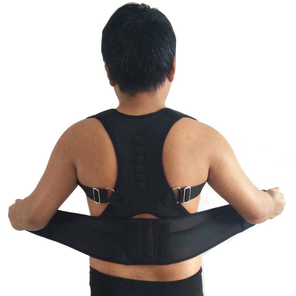Orthopedic Adjustable Magnetic Therapy Woman Man Braces&Supports Belt Shoulder Back Support Belt Posture Corrector Brace Corsets