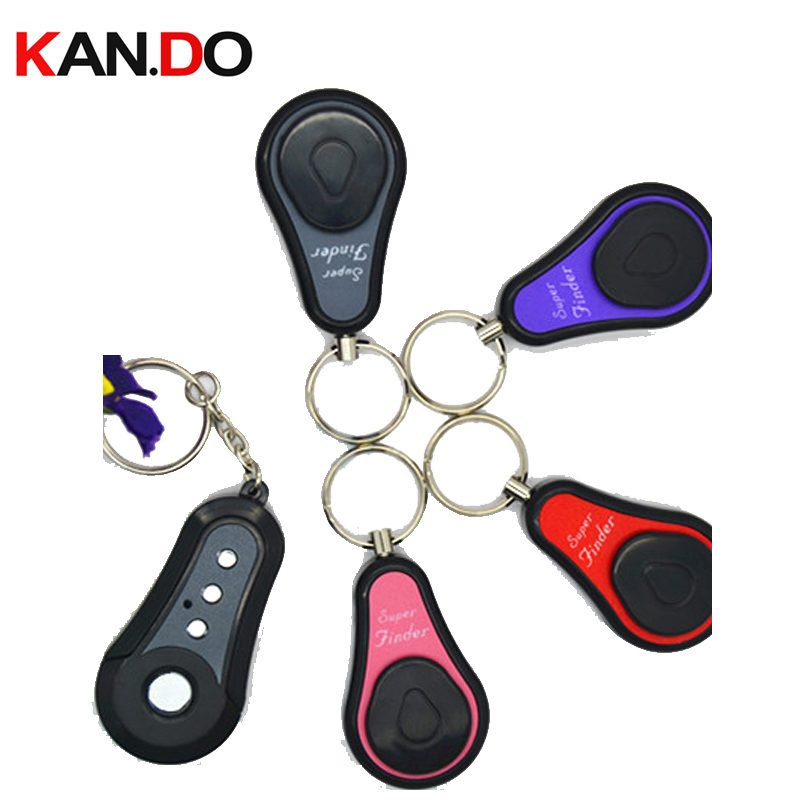 F620 Key Finder Receivers Keychain Locator Remote Key Finder Electronic Remote Finder Anti Lost Alarm Key Finding Alarm