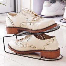Органайзер для обуви, полка для хранения пространства, встроенная двухслойная рама для хранения, простой держатель для обуви, домашнее пространство, интегрированные полки для обуви