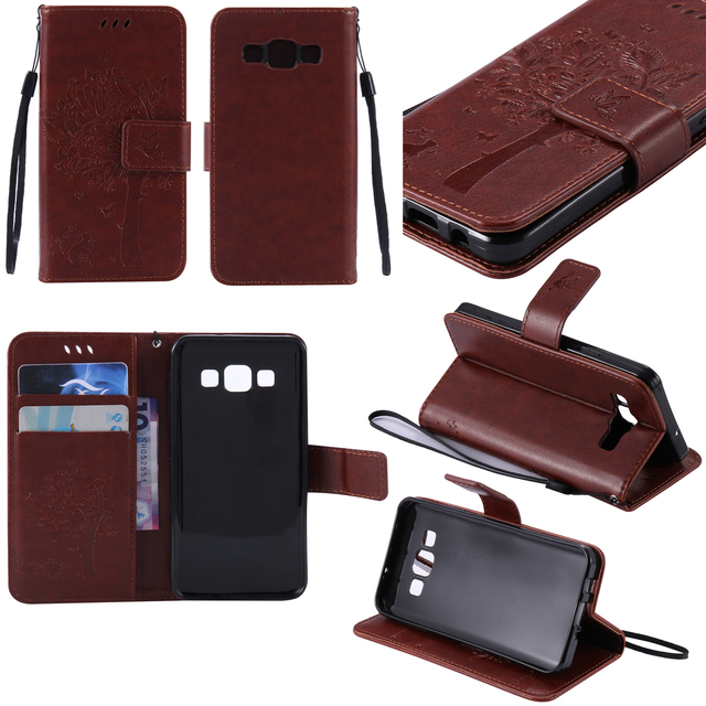 Cover for Samsung Galaxy A3 A 3 2015 SM-A300H/DS Dual leather case SM A300F A300H Mobile Phone Bag for Galaxy A3 SM-A300FU Case