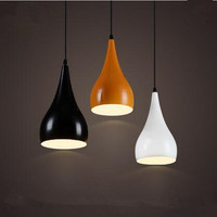 Modern pendant light indoor lamp gourd colorful sitting room restaurant cafe shop bar decoration light fixture