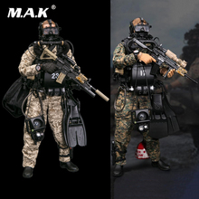 Full set 1/6 Scale DAMTOYS 78055 78056 USMC Marine Corps Reconnaissance Fight Diver Action Figure toy for collection