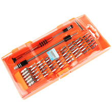 JAKEMY JM-8126 58 in 1 Multi tool Hardware Magnetic Screwdriver Kit for PC Tablet Mobile Phone Electronics Repair Tools Kit